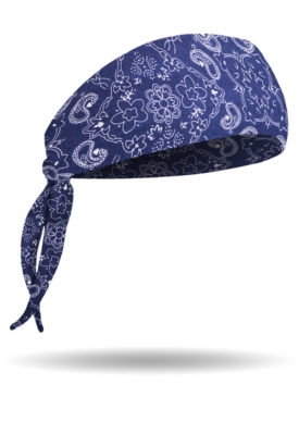 BB1211-VP-Navy-Bandana Print-Biker Band