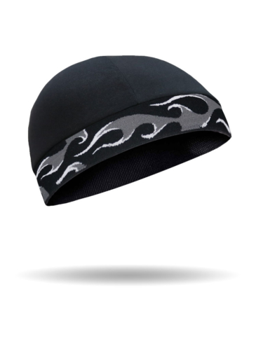 CMCC16-Skull Cap-Flames-Cool Cap