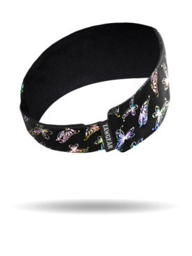 DB1293-Butterfly Foil-Silver-Do Band