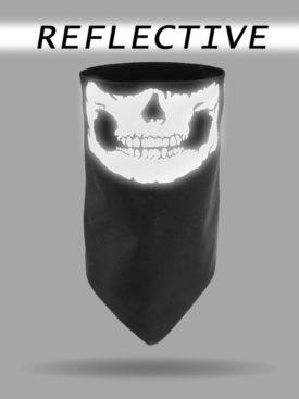 DG-2814-Reflective Skull-Dust Gaiter