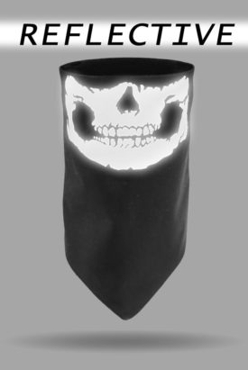 Reflective Skull Jaw Dust Gaiter