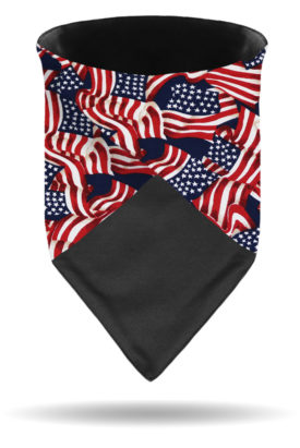 Multi-Function Dust Gaiter or Headband-Americana