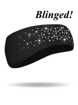 FHB1222R-Dazzled-Black Headband