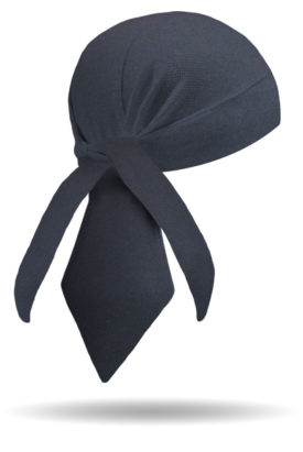 HW1222-Black Cotton-Headwrap