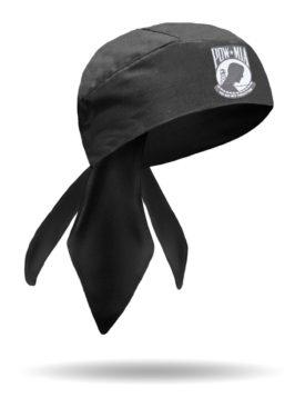 HW23101-POW-MIA Honor Patch Headwrap