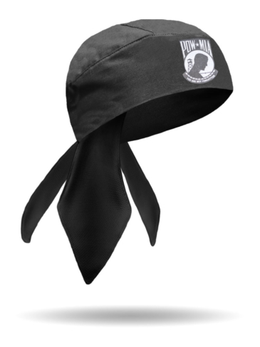 HW23101-POW-MIA Honor Patch Headwrap