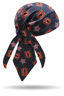 HW2319-Red/Orange-POW-MIA Honor Headwrap
