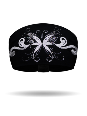 KB1125-Silver-Angel Butterfly-Knotty Band