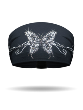 KB1233-Butterfly Rhinestone-Knotty Band