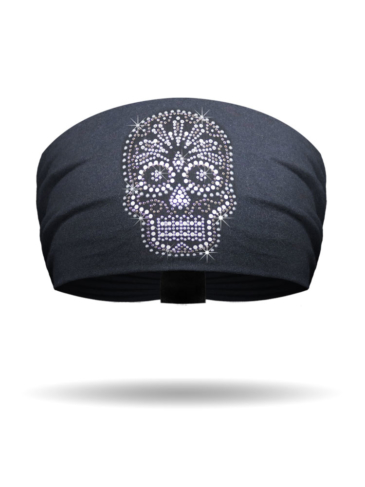 KB1411-Studded Candy Skull Knotty Band