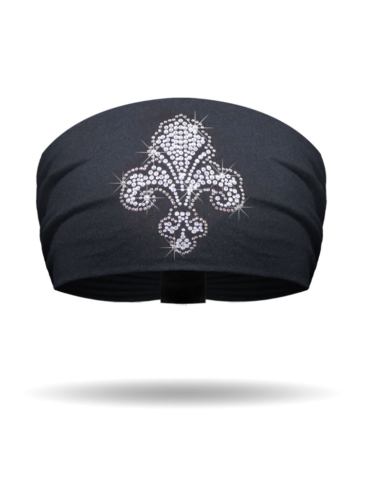 KB1617-Mini Fleur de Lis-Knotty Band