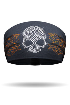 Crystal Skull & Metallic Flames Knotty Band™