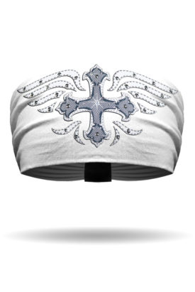Mystique White Cross Knotty Band™ Collection