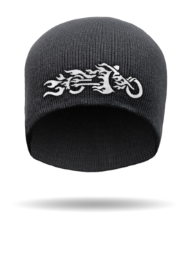 SB-12-Tribal Flamed Cycle-Beanie