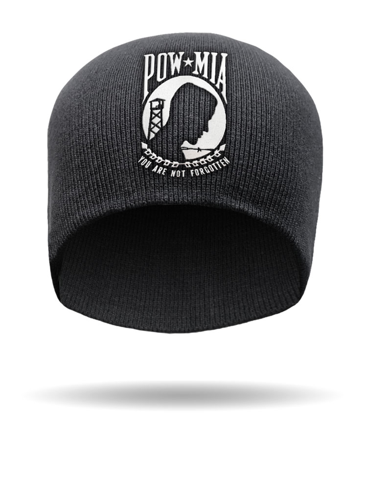 Embroidered POW-MIA Honor Beanie  f9f4643abb86