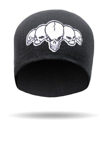 SKULL-6-Five Skulls-Beanie