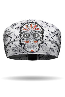 KB1536-White-Eye Candy Bandana-Knotty Band