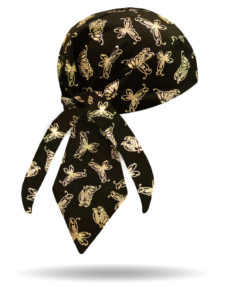 HW1292-Gold-Holographic Butterfly-Headwrap