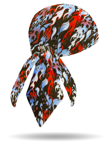 HW1629-Patriotic Flame-Headwrap