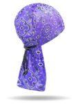 CLS-1210-Purple-Bandana Print-Cord lock Wind Sock