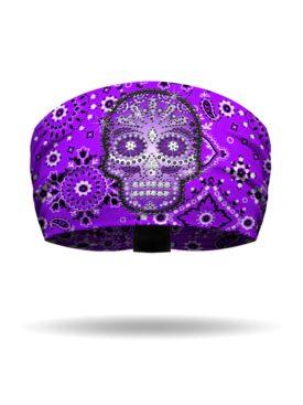 KB1539-Purple-EyeCandyBandana