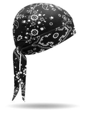 SW1210-Black-Bandana Print-Stretch Wrap