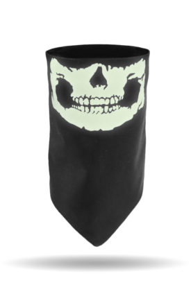 DG-2900-Glow in the Dark Skull Jaw-Dust Gaiter