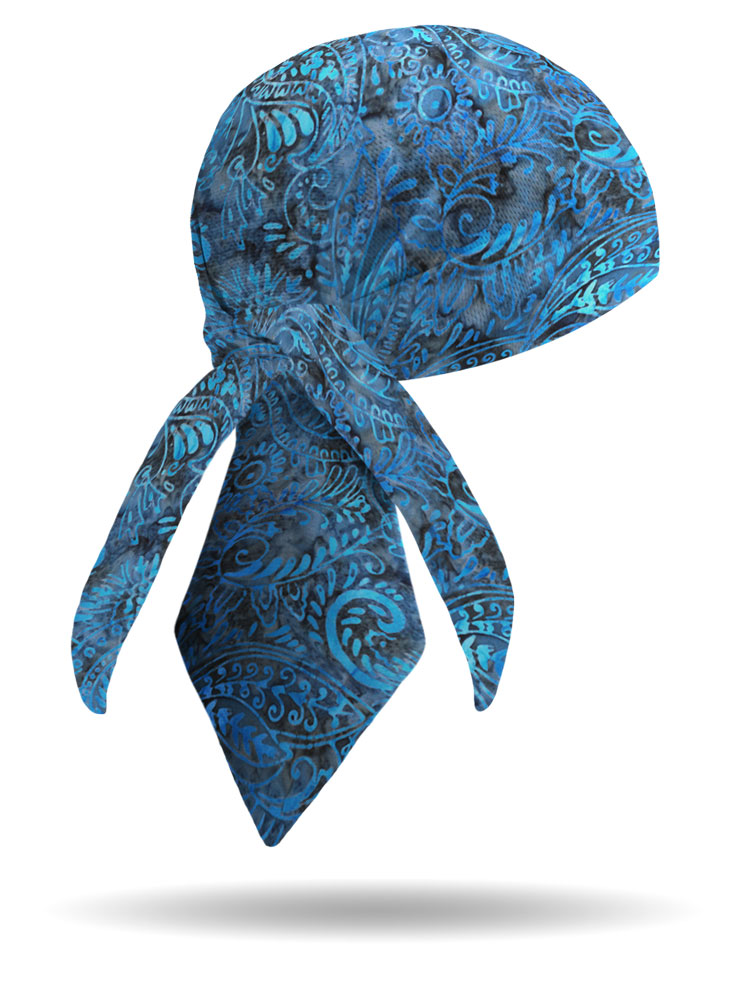 Batik Bandana Headwrap Unisex Made In The Usa By Taw