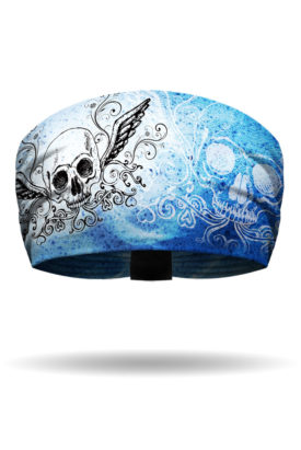 Icy Blues & Winged Skull Knotty Band™