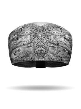 KB3021-Black-Tiki Skull Knotty Band