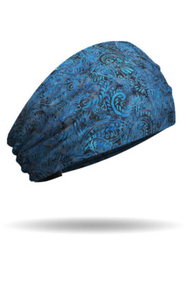 KB1218 Batik Bandana Blues Knotty Band