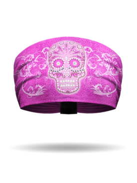 KB2927-Pink-Skullduggery-Knotty Band