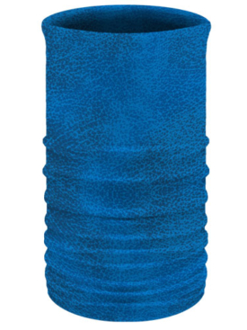 Blue Leather-Neck Tube