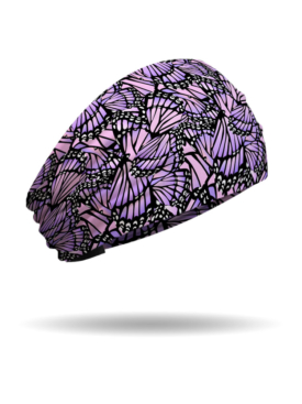 KB1233-Pink-Purple-Butterfly Wings Knotty Band