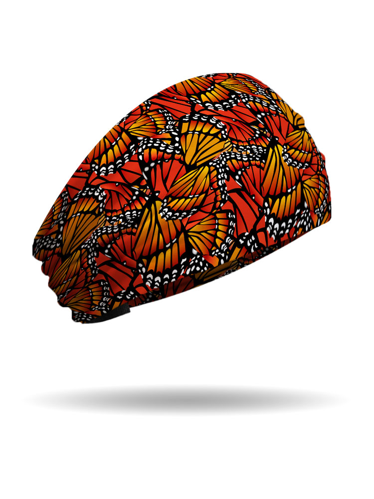 Monarch Butterfly Wings Knotty Band Usa Made Headwrap