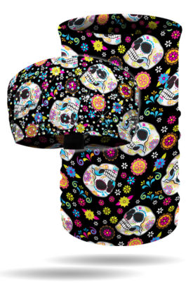 Combo Package Pricing: Knotty + Tube – Fiesta Skulls