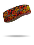FHB2325-Red/Orange-Monarch Wings Headband