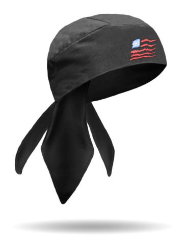 HW1115-Wavy Flag-Headwrap