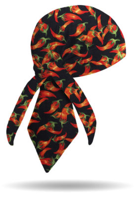 HW1318-Chili Peppers-Headwrap