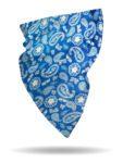 FFG2622-Blue Bandana-Scarf Neck Gaiter