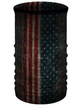 Patriotic Skull-Neck Tube