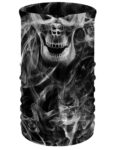 TU2923Smoky Skulls-Head & Neckwear Tube