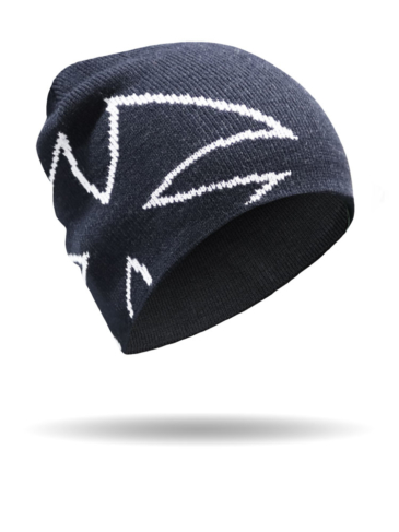 8026-Chopper Cross Outline Beanie