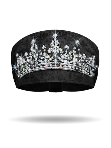 KB3018-Black-Tiara-Knotty Band