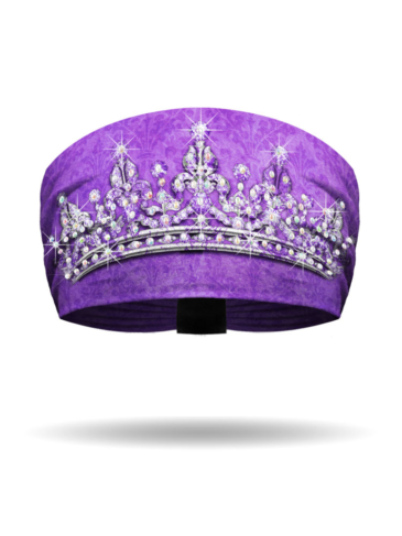 KB3018-Purple-Tiara-Knotty Band
