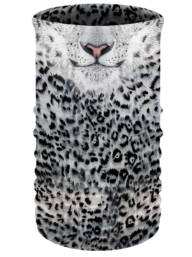 TU3317-White Leopard-Neck-Tube