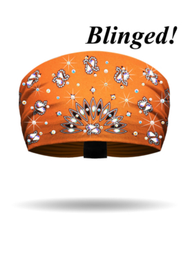 KB2610R-Orange-Classic Bandana