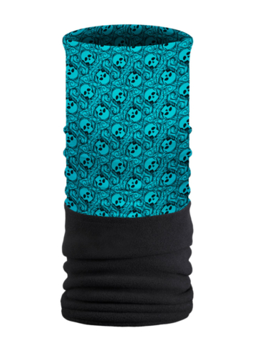 FTU1555-Teal-Eye Spy-Fleece Tube