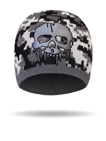 B1311-BlackGrey-CamoDrippingSkull
