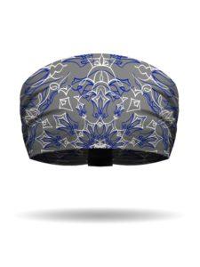KB2619-GREY-BLUE-PinstripeBandana